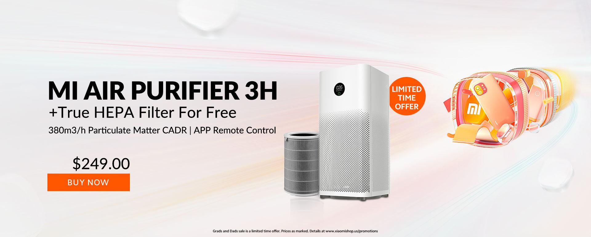 Mi Air Purifier 3h Xiaomishop Mi store